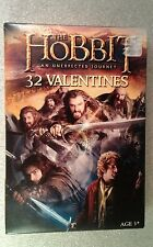 32 Hobbit Valentine Day Cards Box damage 3+