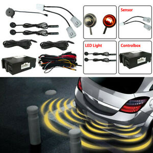 Blind Spot Detection and Monitoring Alert System with 2 Sensor Fit For Car SUV