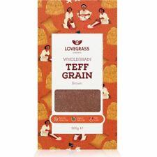 Lovegrass Ethiopia Wholegrain Brown Teff Grain 500g