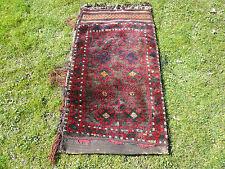 """Hand Knoted Persian Balooch Baluch Baluchistan Tribal Bedding Bag Rug 48"""" x 26"""""""