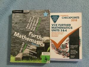 VCE Cambridge Further Mathematics unit 3 & 4 revised and Checkpoints