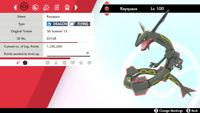 ✨SHINY✨ 6IV Rayquaza - Pokemon Sword & Shield - The Crown Tundra LEGENDARY