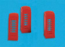 Telephone boxes - N gauge Accessories - Model Scene 5190 - free post