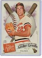 Jim Palmer 2019 Allen and Ginter Ginter Greats 5x7 #GG-30 /49 Orioles