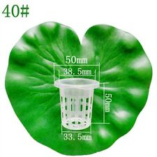 100 High Quality Planting Hydroponics Slotted Mesh Pots Cultivation Net Cups