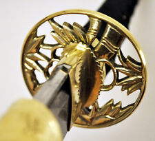 Traditional Korean Nobility Tachi Sword SK5 Steel Kumdo Kendo Tamashigiri laido