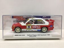 1:32 FLY CARMODEL 99125 BMW M3 E30 YELLOW PAGES 200 KYALAMI 1991 JOHNNY CECOTTO