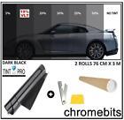 pro anti-rayures Voiture Van Film Vitre teintée TEINTER noir foncé 15% 76cm x 6m