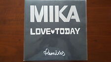 "MIKA ‎– Love Today - Remixes 12"" UK 173 158 6"