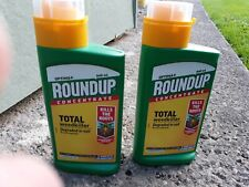 ROUND UP OPTIMA PLUS TOTAL WEEDKILLER 2 X 540ML bottles New