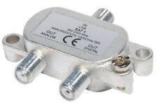 Goobay assis Priorité Interrupteur Commutateurs Distribués 1 LNB sur 2