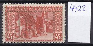 Bosnia Herzeg - 1906 -  Michel 40 G - mix zahn - Colleman 4422 used - 150 euro