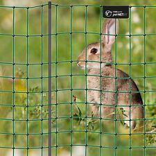 VOSS.PET 12m Premium Kaninchenzaun 65cm Höhe 9 stabile Pfähle 1 Spitze grün