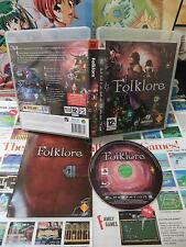 Playstation 3 PS3:Folklore [TOP RPG & EDITION RARE] COMPLET - Fr