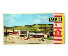 Vintage FALLER B-11 KIT N gauge Railway Station NEUSTADT , NEW NUE NUEUE