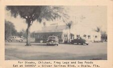 FL - 1948 Florida ROADSIDE Sarres Restaurant Drive-In Ocala, FLA- Marion County