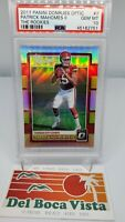 2017 DONRUSS OPTIC PATRICK MAHOMES THE ROOKIES  #7 PSA 10 GEM MINT 💎 SUPER BOWL