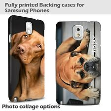 Personalised Photo Phone Case Cover for Samsung Galaxy S8 S9 S10 S7 J6J4J3 Xmas