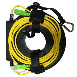 500M Mini OTDR Launch Cable Box Fiber Ring SC APC-SC APC FC ST LC SM G652D