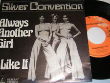 """7"""" - Silver Convention Always another Girl & I like it # 6414"""