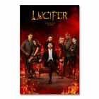 Lucifer Wall Art Decor Home Poster TV Series Picture Print Bedroom Decor 24x36