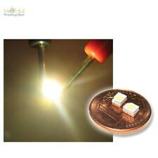 """10 SMD LEDs warm-weiß PLCC-2 3528 warmweiße Typ """"WTN-PLCC2-1100ww"""" warmwhite SMT"""