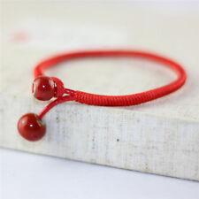 Glück Rot String Armband Männer Frauen Hand Aus Keramik Perle Armband Schmuck