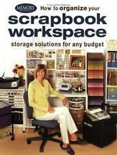 How to Organize Your Scrapbook Craft Room Workspace Crafts (Paperback) ~