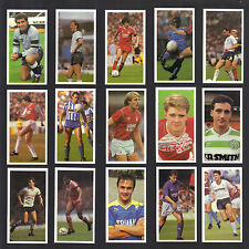 CIGARETTE/TRADE/CARDS.Bassett Sweets.FOOTBALL 1988/89.(Complete Set of 48)(1989)