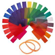 #QZO 20pcs Flash Speedlite Color Gels Filters for Canon Yongnuo DSLR Camera