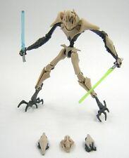 Star Wars Loose Clone Wars CW General Grievous ( Battle Damaged )