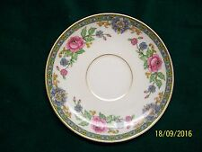 "VINTAGE C.H. FIELDS LIMOGES HAVILAND SAUCER W/GOLD TRIM 5 1/2"" DIA."