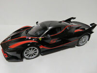 BURAGO RACE & PLAY 1:18 AUTO DIE CAST FERRARI FXX K NERO # 5 ART 18-16010