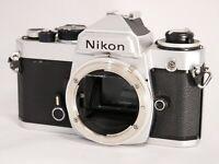 Nikon FE 35mm SLR Film Camera Body Only *For Repair* #K016b
