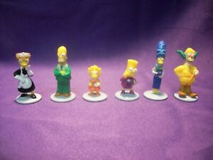 THE SIMPSONS CLUE GAME REPLACEMENT PIECES HOMER MARGE BART LISA SMITHERS KRUSTY
