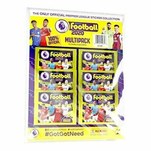 Panini's Football 2020 – The Official Premier League Sticker Collection Multipac