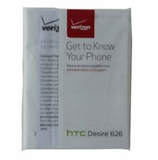 HTC Desire 626 Verizon Manual/Consumer and Product Safety Info Pack D200