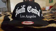 NEW ERA SOUTH CENTRAL LOS ANGELES ORIGINAL FIT SNAPBACK BLACK BRAND NEW