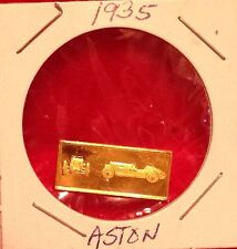 1935 Aston Franklin Mint Great Performance Cars Mini Ingot