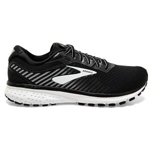 Brooks Ghost 12 Running Shoes Mens Neutral Trainers Black UK 10 EUR 45