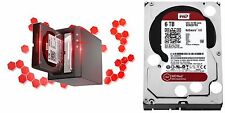 Western Digital RED 6TB NAS Hard Drive WD 5400 RPM SATA 6Gbs 64MB Cache WD60EFRX