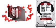 Western Digital RED 6TB NAS Hard Drive WD 5400 RPM SATA 6Gbs 64MB Cache WD6