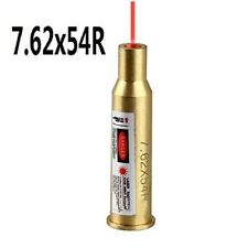 Hunting Caliber Cartridge 7.62x54mm Boresighter Laser Bore Sight Rx Red