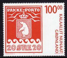 Greenland Scott #497 Vf Mnh 2007 100 Kroner Parcel Post Stamp Design