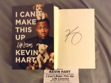 """Signed Kevin Hart """"I Can't Make This Up: Life Lessons"""" Book"""