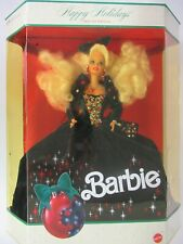 Mattel 1991 Happy Holidays Barbie Doll #1871, Special Edition, 885-E