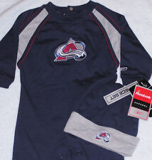 COLORADO AVALANCHE REEBOK EMBROIDERED 24 MONTH 2 PIECE INFANT SET FREE SHIPPING