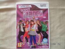 JEU NINTENDO WII : LET'S DANCE WITH MEL B        E83