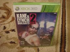 Kane & Lynch 2: Dog Days  (Xbox 360, 2010)