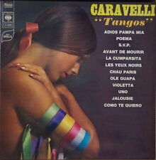 """CARAVELLI """"TANGOS"""" CHEESECAKE GATEFOLD COVER FRENCH LP"""